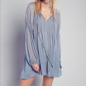 Free People babydoll boho dress NWT